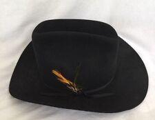 Vintage STETSON 3x HIGH QUALITY Beaver Western Cowboy Hat Size 6 7/8