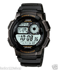 AE-1000W-1A Original Casio Men's Watch Standard Digital Black 10-Year Battery