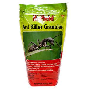 Ant Killer Poison Granules For Ants Fleas Spiders Ticks  Lawn 3,500 Sq.FT 3.5LB