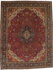 Floral Semi Antique 10X13 Vintage Wool Hand Knotted Oriental Rug Decor Carpet