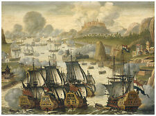 "Maritime ""Naval Battle of Vigo Bay, 23 October 1702"" ca. 1705"