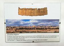 Jerusalem Papyrus  Bible ancient replic
