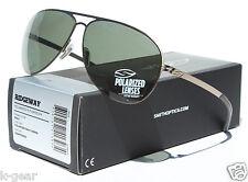 SMITH OPTICS Ridgeway POLARIZED Sunglasses Gold/Gray Green NEW Aviator