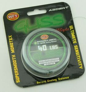 Ardent WFT Gliss Supersmooth Monotex Fishing Line 40lbs 150yds Green