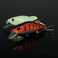 2PCS fishing fish hook Crankbaits 8cm 12g Crank Minnow lure Lures