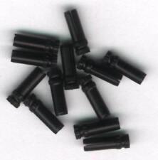 Black Dart Flight Protectors: 3 per set