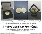 Bitcoin Ethereum Shiba Inu Dogecoin XRP Gold Silber Krypto Münze Geschenk NEU