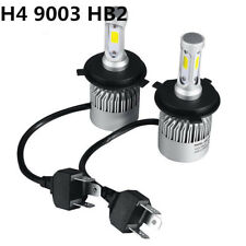 H4 9003 HB2 3800LM Car LED Conversion Headlight Hi/Low Beam 6000K White Bulbs