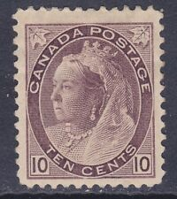 Canada 83 Mint OG 1898 10c Brown Violet Queen Victoria Issue CV $425.00
