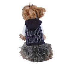 Ropa y calzado sin marca color principal azul para perros