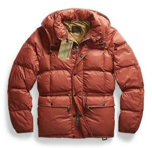 RRL Authentic 2020AW Padding Quilting Jacket Red Size S New Unused from Japan