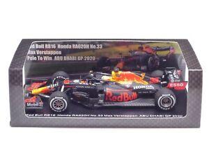 Spark 1:43 Red Bull RB16 Honda RA620H Max Verstappen Winner Abu Dhabi GP 2020