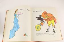 BEST LOVED FAIRY TALES BY PARENTS MAGAZINE ~ Large Vintage Children's Book