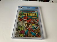 ETERNALS 14 CGC 9.6 WHITE PAGES HULK APPEARANCE MARVEL COMICS 1977