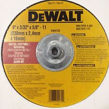 NEW DEWALT DW8759 METAL NOTCHING WHEEL