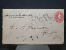 Classic Cover 2c Washington pink Stationary 1903 Flag Cancel