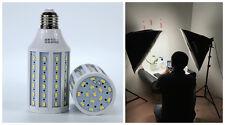 [Lot de 2] Ampoule éclairage LED puissante studio photo 20W 5500K socket E27