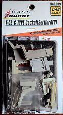 KASL Hobby 1/48 F-5E TIGER II C TYPE COCKPIT resin upgrade set for AFV CLUB