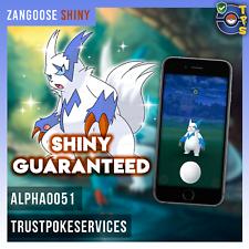 Pokemon ir brillante zangoose brillante atrapar Garantizada! más brillante regionales!