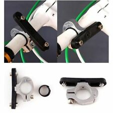 Adapter Cycling Bike Bottle Cage Handlebar Mount Clamp Clip Water Cup Holder