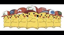 Pokemon Sun And Moon All 7 Official Lv.100 Event Ash Hat Pikachu's