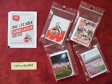 REWE 1.FC Köln Sammelalbum Saison 2019 - 2020 : Komplettsatz, alle 160 Sticker !