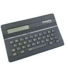 Franklin Spelling Ace Model Sa-98 Computer Dictionary Gray