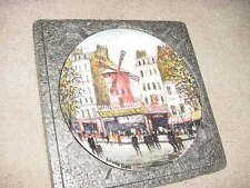 Le Moulin Rouge - Collector Plate - Dali