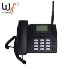 HOT Fixed Wireless GSM Desk Phone SIM Card Mobile Home Office Desktop Telephone