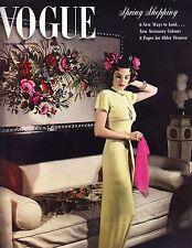 VOGUE March 15 1941 Rawlings Grand Duchess Marie Mature Dressing Vivien Leigh