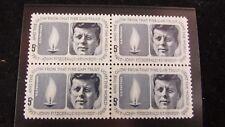 John F Kennedy - 1964 Mint Stamp Block -
