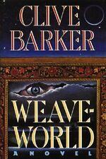 Clive Barker - Weaveworld - HC  w/DJ 1987 (w/Publisher's Erratum Slip Page 300)