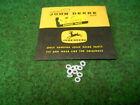 John Deere R26977R Valve Back up Ring Lot of 10 R26977 Fits 1020 3010 4020 Bin60