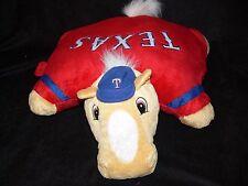 MLB TEXAS RANGERS Horse PILLOW PET mc
