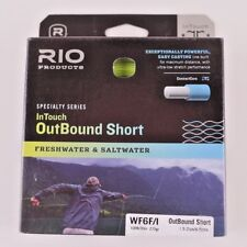 Rio OutBound Short Intermediate Tip WF6F/I Fly Line Free Fast Shipping 6-21307