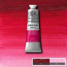 Winsor Newton Griffin Alkyd Oil Color 37ml Tube Permanent Rose 1916-501