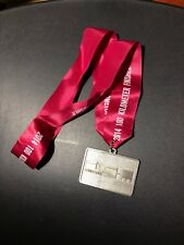 2014 Long Haul 100 kilometer Finisher's Medal w/ ribbon