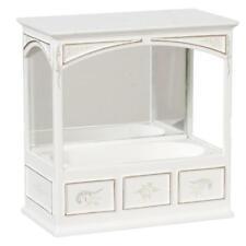 Puppenhaus Handbemalt JBM erbaut Bad Wanne Miniatur Badezimmer Möbel