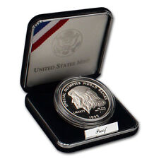 1995-P US Special Olympics World Games Commemorative Proof Silver Dollar