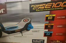 Razor Power Core E100 Electric Hub Motor Scooter - Blue