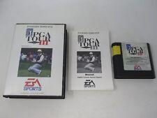 Golf Pga Tour 3 III-SEGA Mega Drive Juego (PAL) en caja