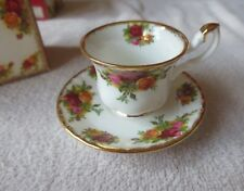 Royal Albert - Old Country Roses - Miniature Tea Cup and Saucer