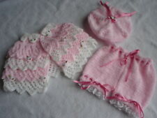 BABY OR REBORN LAYERS OF LACE CAPE SET KNITTING PATTERN