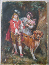 Original Oil PAINTING signed G.E. Robertson - WELL DONE Finely PAINTED!!
