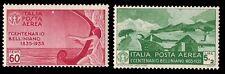 ITALIA REGNO 1935 - POSTA AEREA n. 92+94 BELLINI INTEGRI € 150