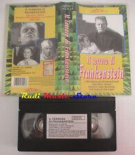 film VHS il terrore di frankenstein The ghost of 1942 LEGOCART (F19*) no dvd