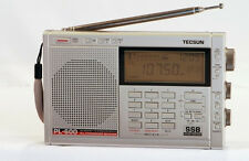 TECSUN PL-600 PLL Dual Conversion SSB World Band Radio Receiver ** SILVER **