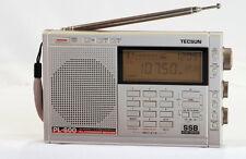 TECSUN PL-600 PLL Dual Conversion SSB World Band Radio Receiver ** SILVER **
