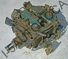 ROCHESTER QUADRAJET COMPLETELY RESTORED CARB 1972,73,74 OLDS 455 ELECTRIC CHOKE