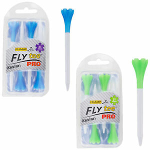 CHAMP FLY TEES PRO. 2 3/4 INCH, 69MM OR 3 1/4 INCH, 83MM PACK OF 4.